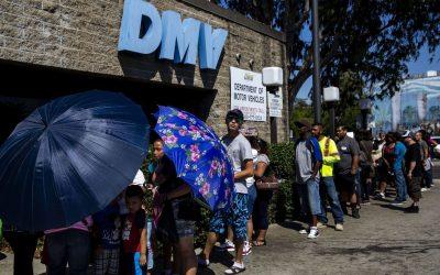 DMV Ballooning Wait Times