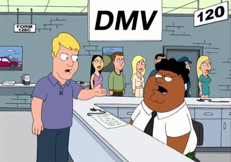 FAMILY GUY DMV VIDEO