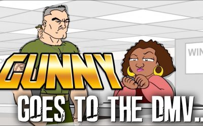 GUNNY GOES TO THE DMV VIDEO